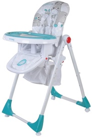 SunBaby Comfort Lux High Chair B03.004.1.6 Turquoise
