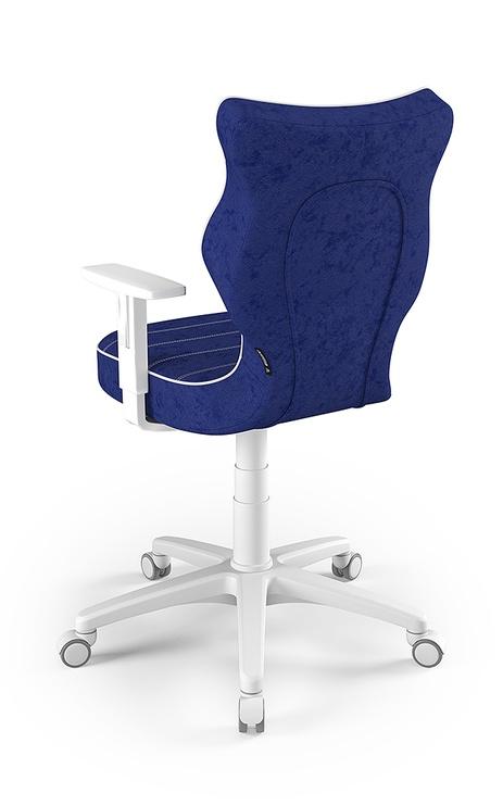 Детский стул Entelo Duo Size 6 VS06, синий/белый, 400 мм x 1045 мм