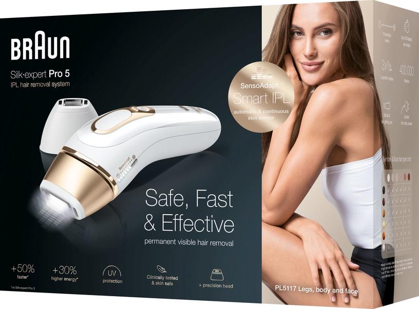 Fotoepilaator Braun Silk-expert Pro 5 PL5117