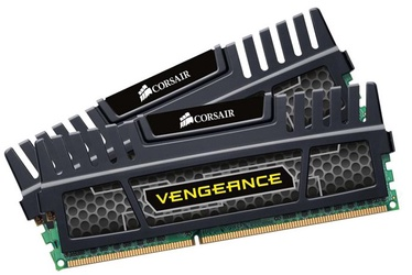 Corsair Vengeance Black 8GB DDR3 CL9 KIT OF 2 CMZ8GX3M2A1600C9
