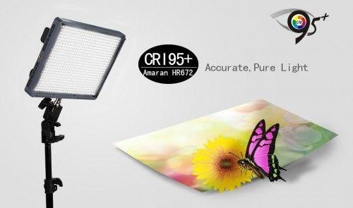 Aputure Amaran AL-HR672W CRI95+ LED Video Light Source