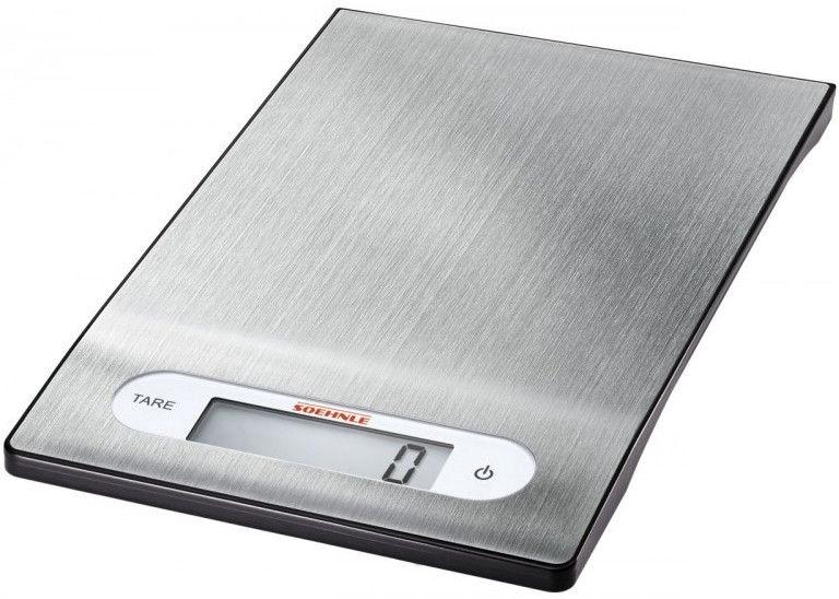 Soehnle Electronic Kitchen Scales Shiny Steel