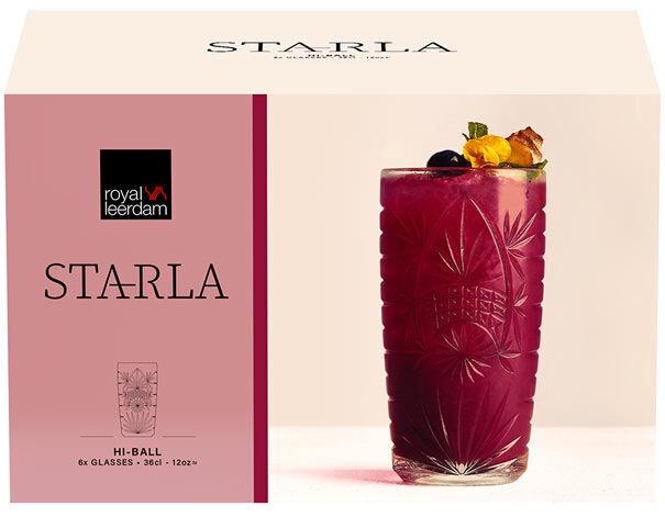 Kokteiliklaas Royal Leerdam Starla, 0.35 l, 6 tk