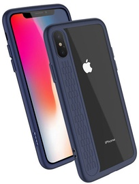 Hoco Premium Star Shadow Back Case For Apple iPhone X Blue