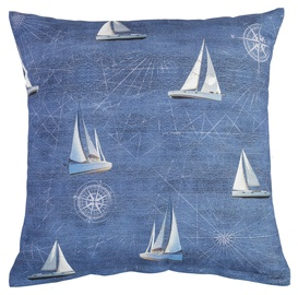 Home4you Holly Pillow 45x45cm Sailboat