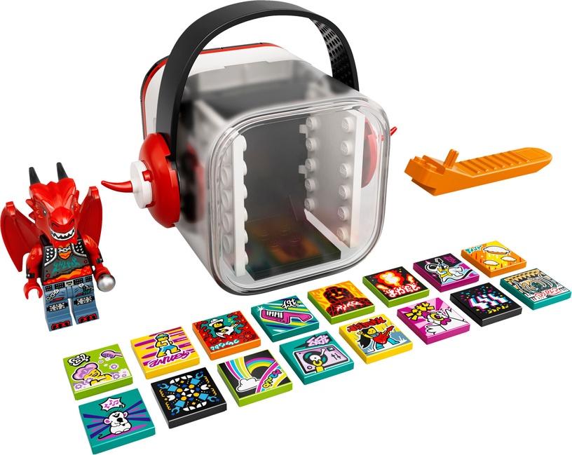 Конструктор LEGO VIDIYO Metal Dragon BeatBox 43109, 86 шт.