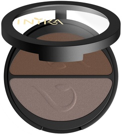 Inika Pressed Mineral Eye Shadow Duos 3.9g Choc Coffee