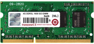 Transcend 4GB DDR3 1600MHz CL11 SO-DIMM for MacBook Pro