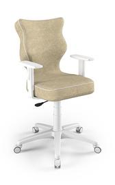 Vaikiška kėdė Entelo Duo Size 6 VS26, balta/kreminė, 425x400x1045 mm