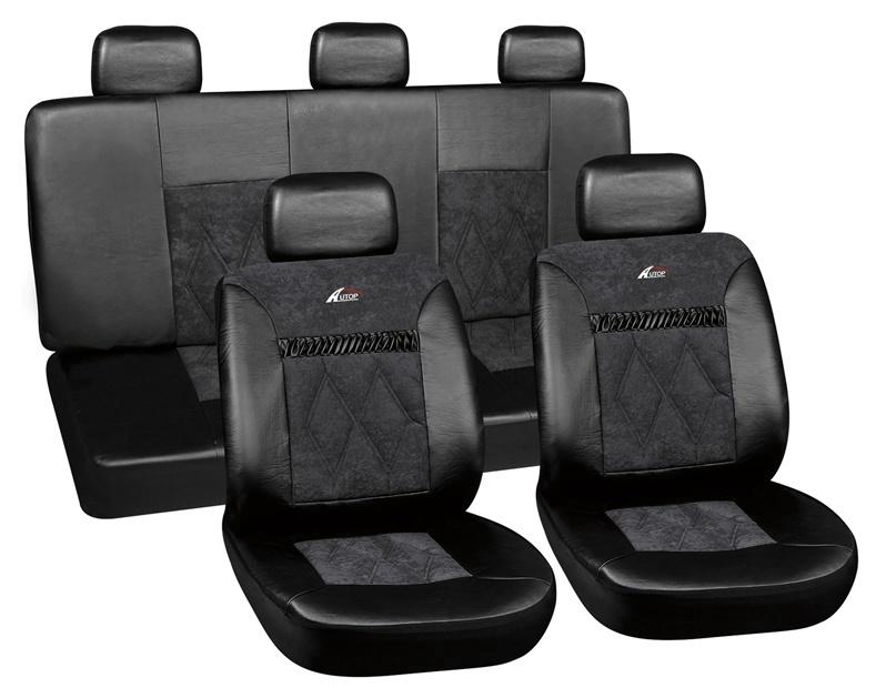 Automobilio sėdynių užvalkalai Autoserio AG-28680/1, 8 dalys