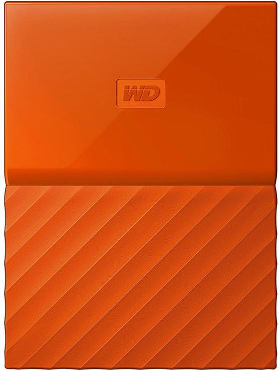 Western Digital 2TB My Passport USB 3.0 Orange WDBYFT0020BOR-WESN