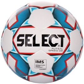 Select Futsal Speed DB Football 14845 White/Blue Size 4