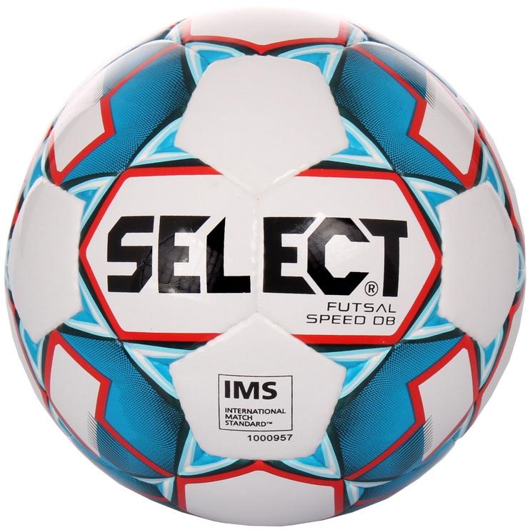 Select Futsal Speed DB Football 14845 White/Blue Size 4