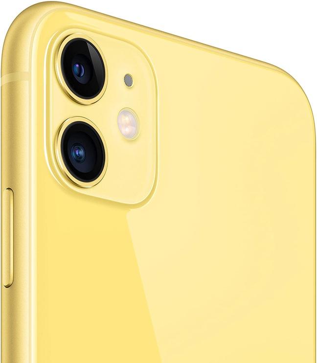 Mobilusis telefonas Apple iPhone 11, geltonas, 4GB/64GB