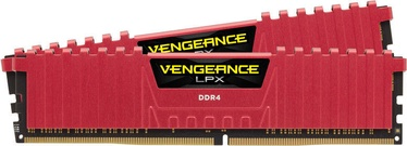 Operatīvā atmiņa (RAM) Corsair Vengeance LPX Red CMK8GX4M2A2666C16R DDR4 8 GB