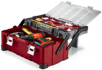 "Keter 22"" MasterPro Box with Organizer"