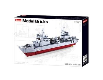 Конструктор Sluban Supply Ship M38-B0701