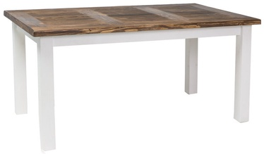 Signal Meble Poprad TV Table 160x90cm Brown/White