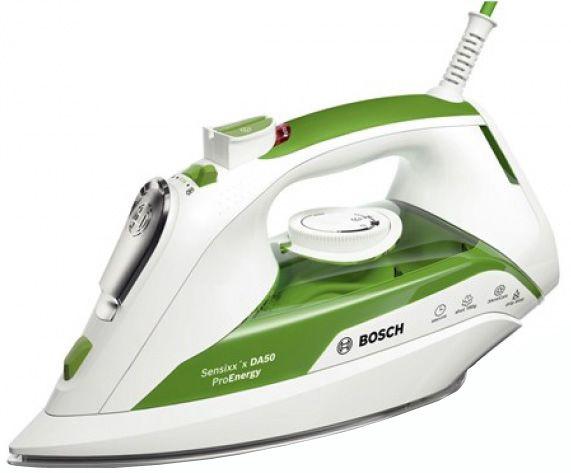Утюг Bosch TDA502412E, белый/зеленый