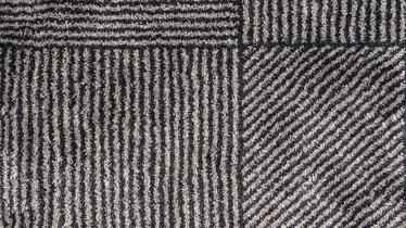 Ковер Domoletti Softness P348, серый/многоцветный, 190 см x 135 см