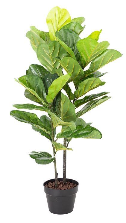 Home4you Fiddle Leaf Artificial Plant H190cm Green