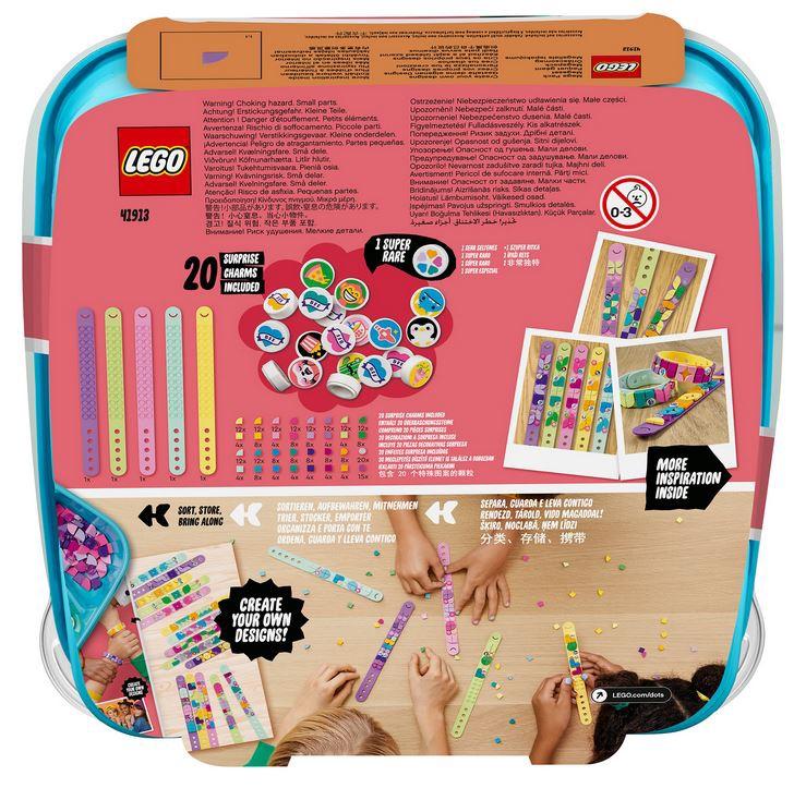 Конструктор LEGO®DOTS Большой набор для создания браслетов 41913