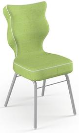 Детский стул Entelo Solo Grey/Green, 330x310x695 мм