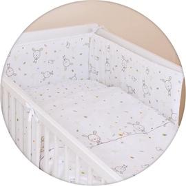 Ceba Baby Bedding Set 3pcs Dream Roll-Over White