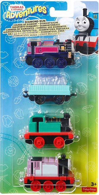 Fisher Price Thomas & Friends Adventures 4-Pack Assortment
