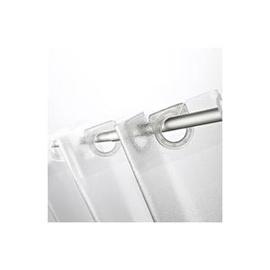 Vonios užuolaida Ridder Crashed Ice, 180 x 200 cm