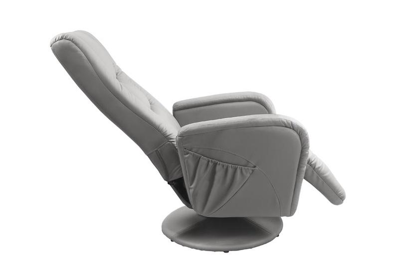 Fotelis Halmar Pulsar Grey, 85x68x85 cm