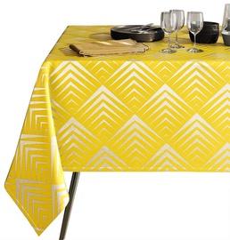 AmeliaHome Oxford Tablecloth AH Piramides Yellow 140x300cm