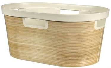 Curver Laundry Basket Infinity 40L 59x39x27cm Bamboo