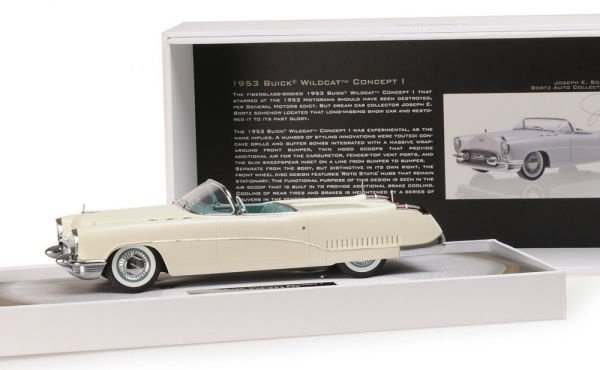 Minichamps Buick Wildcat 1 Concept 1953 White