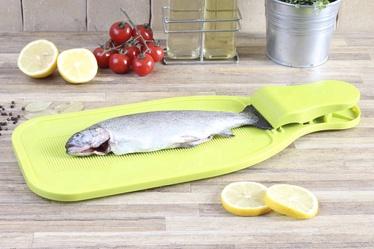 Žuvies valymo lentelė, plastikinė, 45 x 18 cm