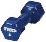 TKO Vinyl Dumbbell 5kg Blue
