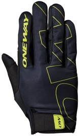 One Way Universal Full Gloves Black/Yellow 8