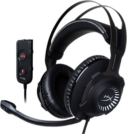 Ausinės Kingston HyperX Revolver S Gaming Headphones Gun Metal