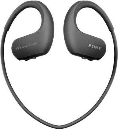 Музыкальный проигрыватель Sony Walkman NW-WS413, черный, 4 ГБ