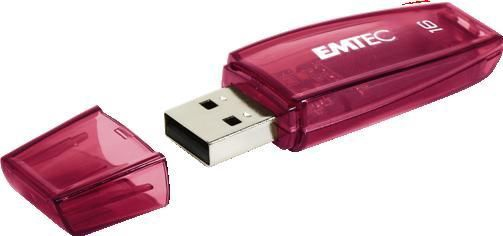 Emtec 16GB C410 USB 2.0 Color Mix
