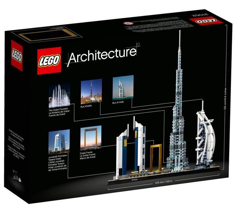 Конструктор LEGO Architecture Дубай 21052, 740 шт.