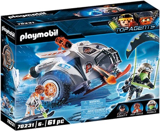 Playmobil Top Agents Snow Glider 70231