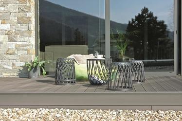 Sodo baldų komplektas Prosperplast Uniqubo Multifunctional IKUBS5-405U, pilkas, 4 vietų