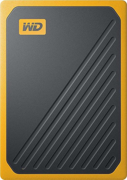 Western Digital My Passport Go 1TB External SSD Black/Yellow