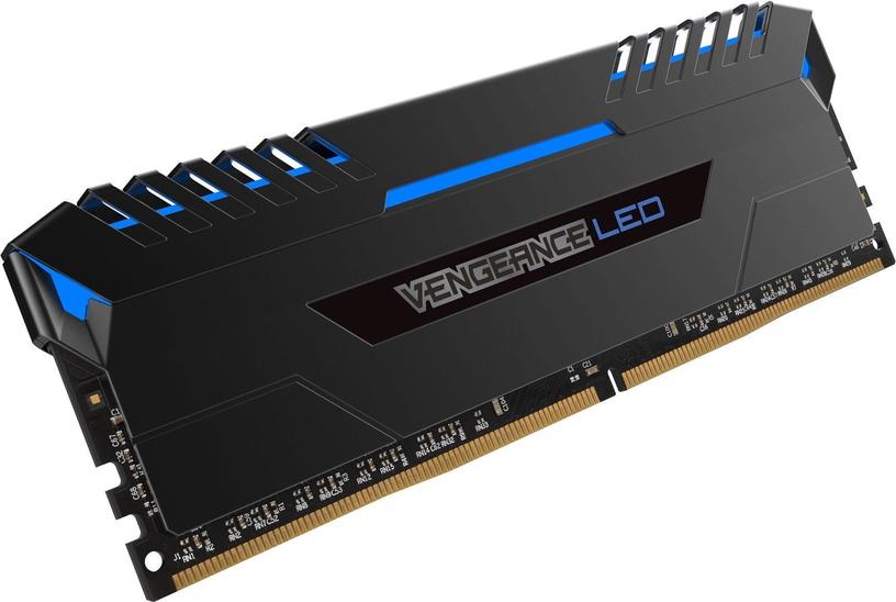 Corsair Vengeance LED Blue 16GB 3000MHz CL16 DDR4 KIT OF 2 CMU16GX4M2C3000C16B