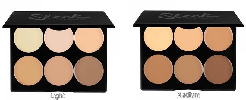 Sleek MakeUP Cream Contour Kit 12g Medium