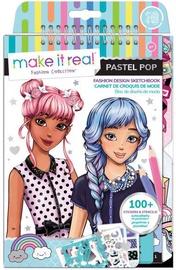 Make It Real Fashion Design Sketchbook Pastel Pop
