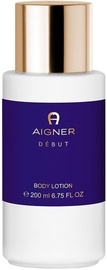 Aigner Debut By Night Body Lotion 200ml
