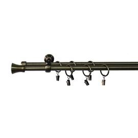 Dvigubo karnizo komplektas Domoletti LK1805/I, 300 cm, Ø 19 mm