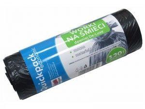 Vigo Quickpack Economic Trash Bags 120L 10pcs Black